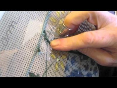 Comment faire le point gobelin en tapisserie au point Partie 1 de 2