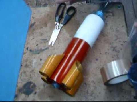 Décoration d'une fusée