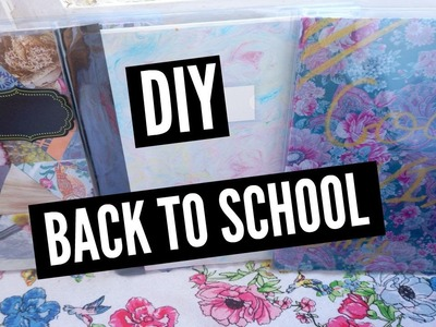 DIY Back to School ♡ Customisez vos cahiers I DIY Français