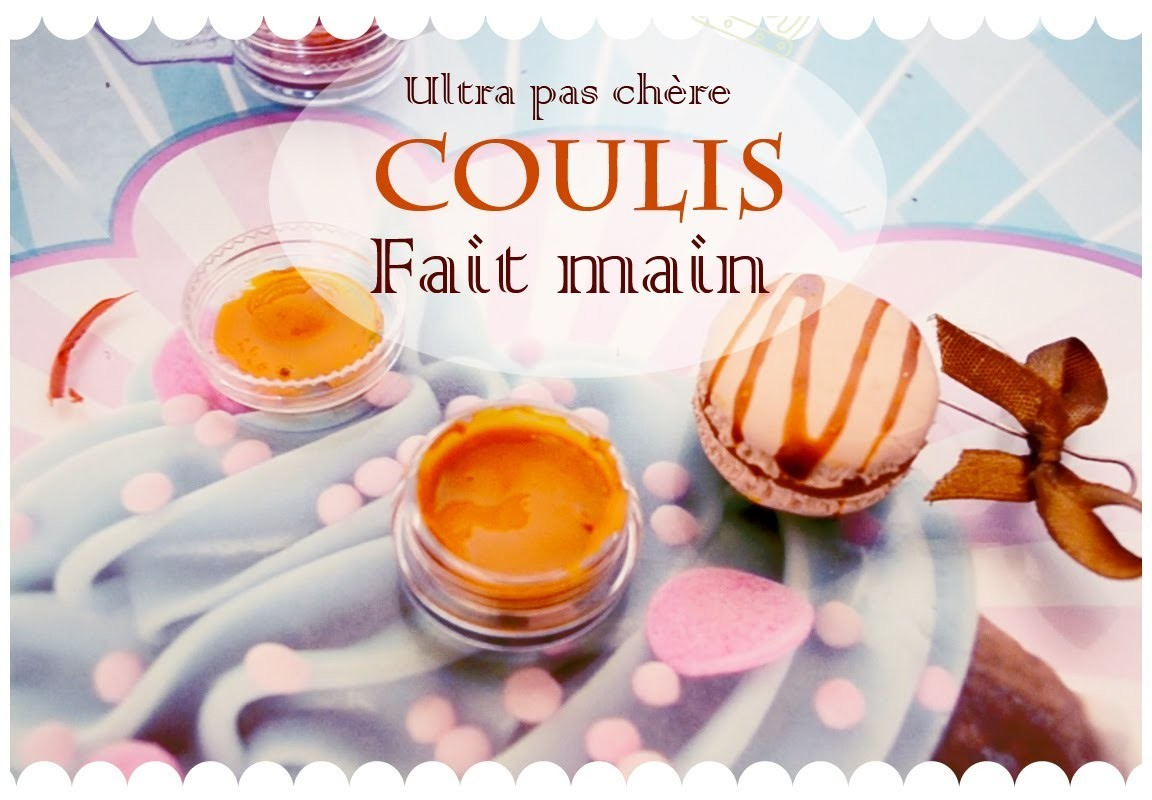DIY: Coulis fait main. DIY Frosting handmade clay [FERME]