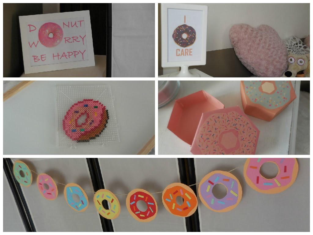 [ DIY ] Donut room decor