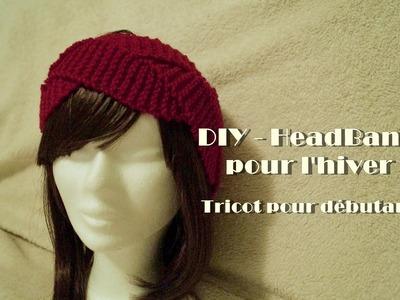 DIY-Heabdand en laine - Tricot pour débutant