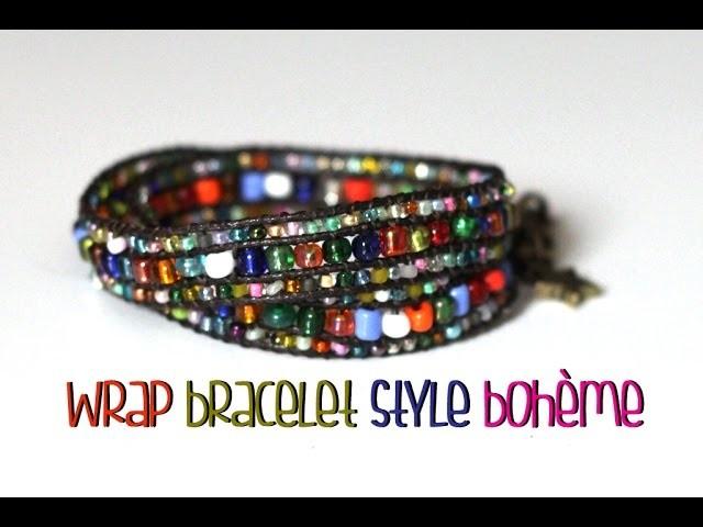 DIY # Le wrap bracelet style bohème [Partenariat Creavea]
