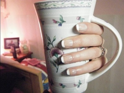 French Manicure Simple (2 techniques)