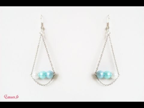 HD. TUTO : Faire des boucles d'oreille - Make earrings