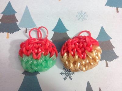 [TUTO] : boule de noël en Rainbow Loom