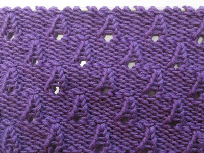 Tricot point c tes anglaises zig zag ou c tes chaval es my crafts and diy projects - Apprendre a tricoter gratuitement ...