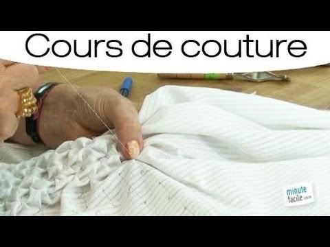 Comment faire des smocks en couture?