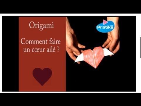 Comment faire un cœur en origami