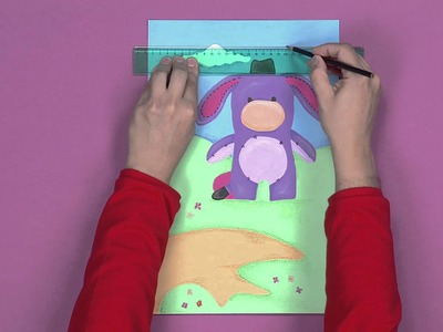Disney Junior - Art Attack : Carte animée  - En Français