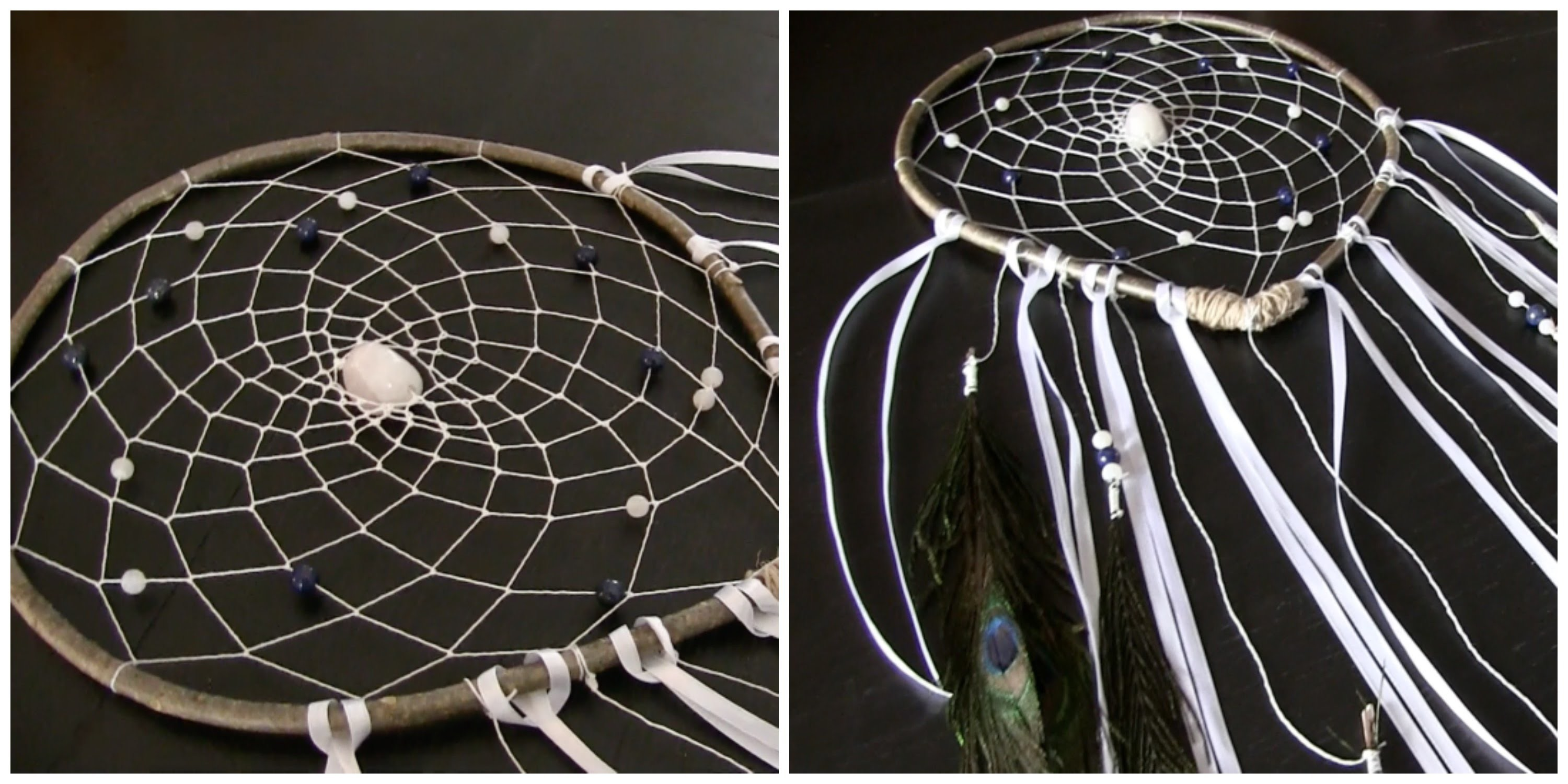 ** DIY SPIRITUEL ** Dreamcatcher ou Attrape rêves TUTO
