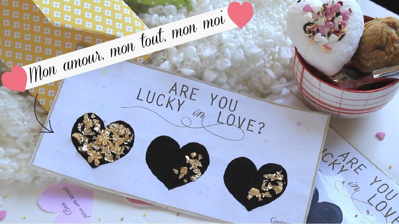 DIY St-Valentin dernière minute: Tickets d'amour à gratter!  ♥ | GeorgiaSecrets