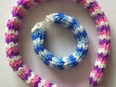 Loom #7 Bracelet Rond (en français)(Rainbow Craz Loom)
