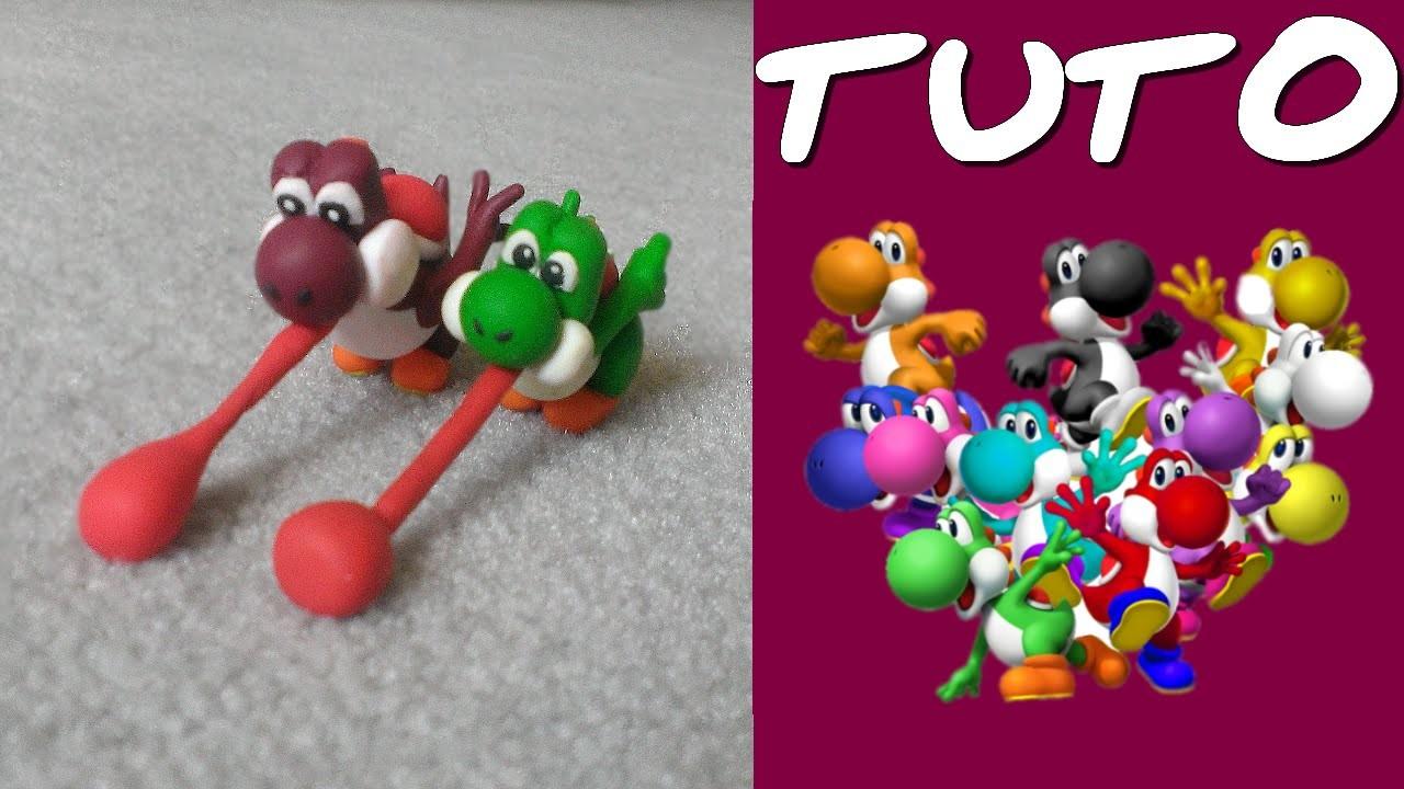 TUTO FIMO | Yoshi (de Mario)