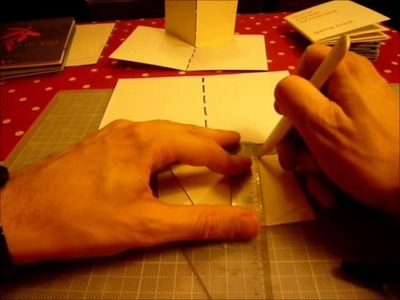 Tutoriel Pop up book : Le mur