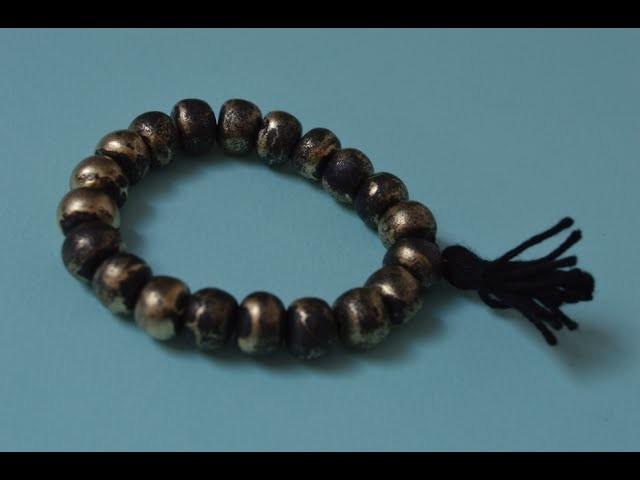 DIY - Le bracelet façon mala précieux