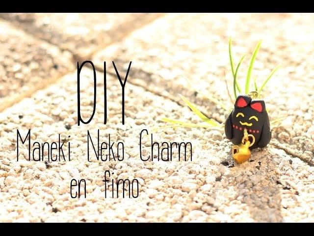 DIY # Maneki Neko Charm en fimo