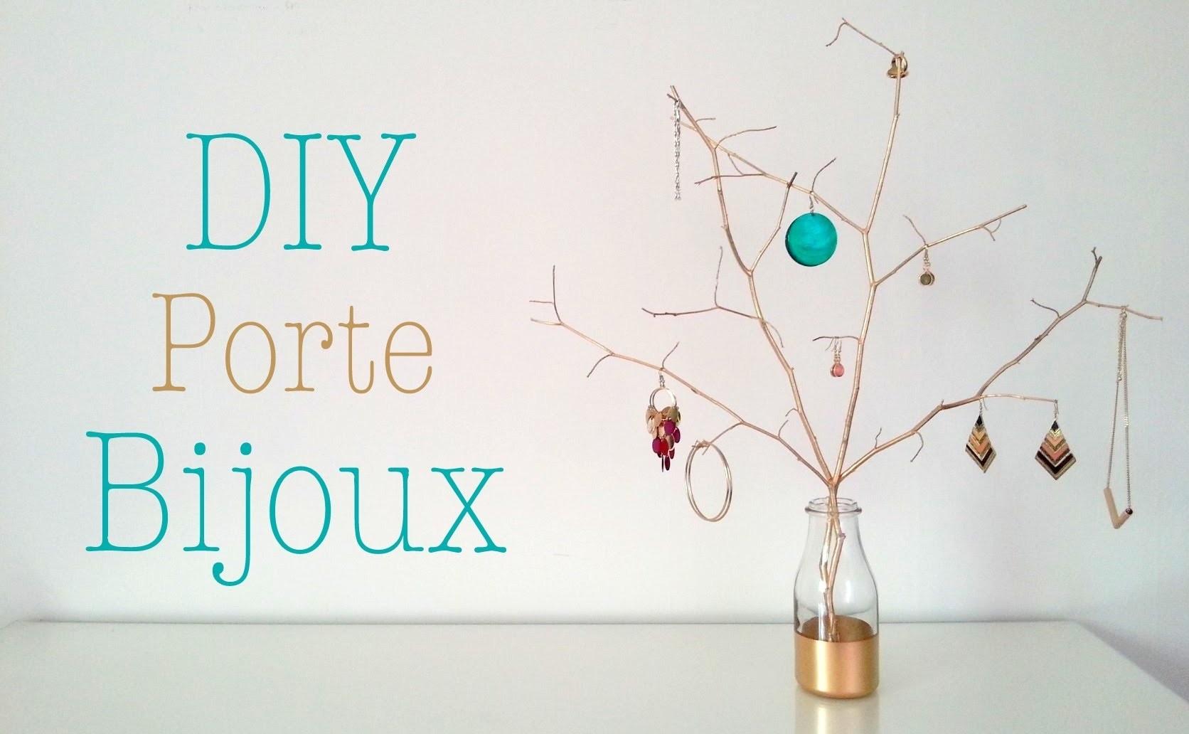 DIY Porte bijoux avec des branches