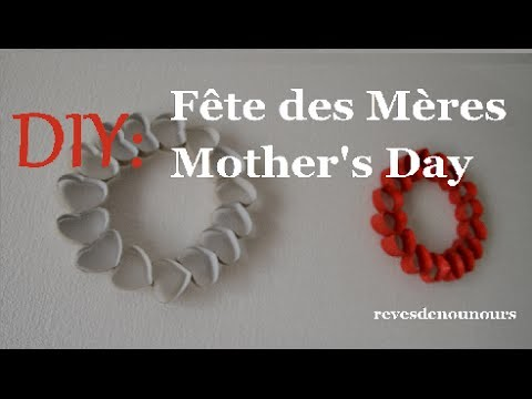 ✄ DIY: pour la Fête des Mères ☆ for Mother's Day ☆ [Alice]