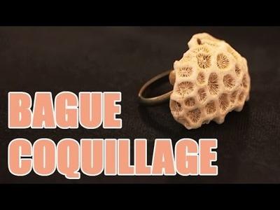 Réalisez vous même une bague coquillage - DIY Bijoux