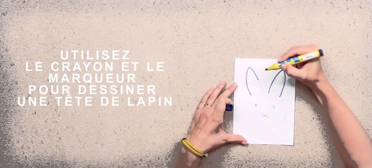 T-SHIRT LAPIN POUR ENFANT DIY - RESTEZ CRÉATIF !