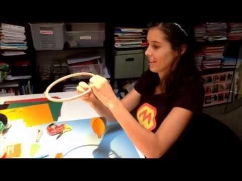 Tuto - DIY Faire un mobile en papier 3D