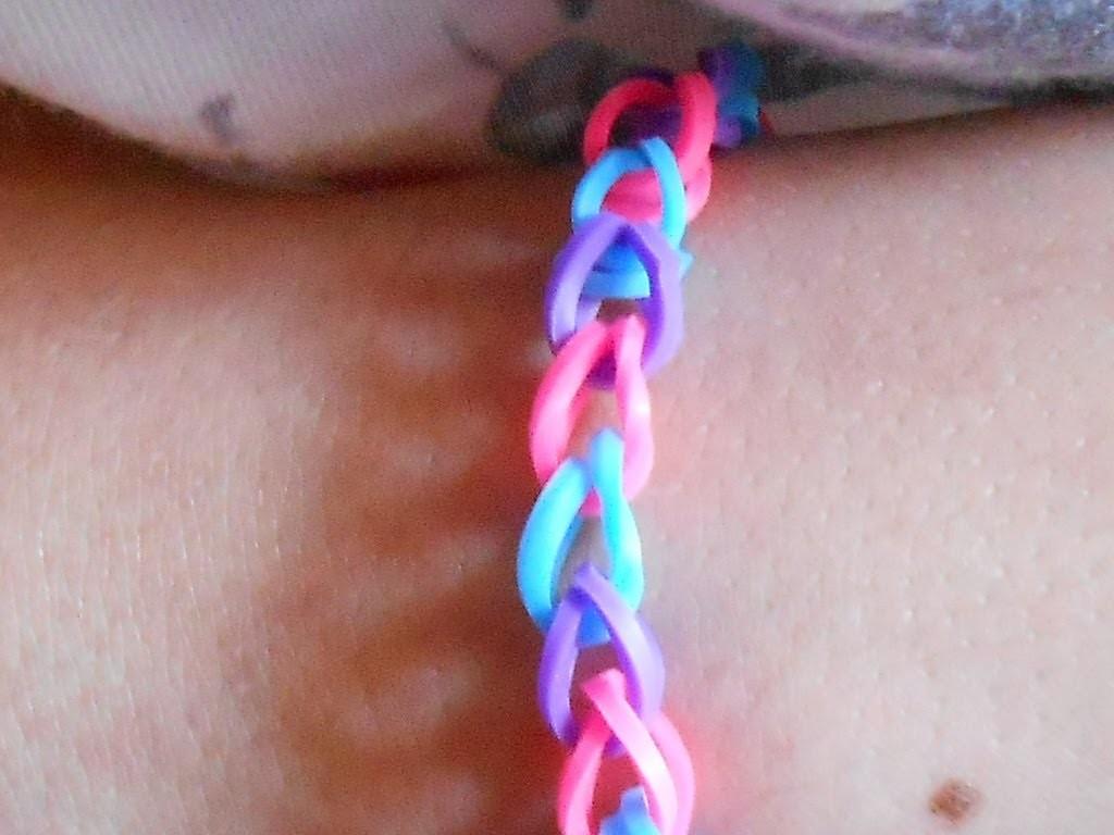 D.I.Y. : Bracelets Colorful (élastiques)