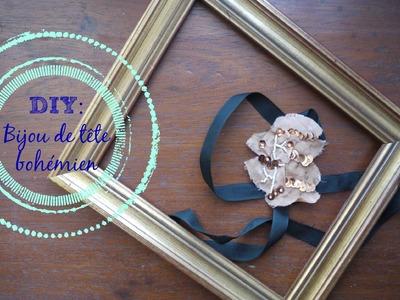 DIY: Bijou de tête à faire soi-même : Soyez inspirées et créez, créez.