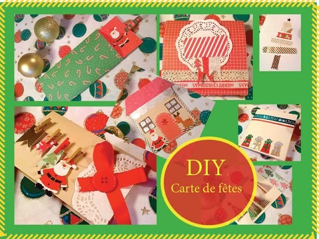 ❄ DIY : Cartes de Noël et nouvel an ❄