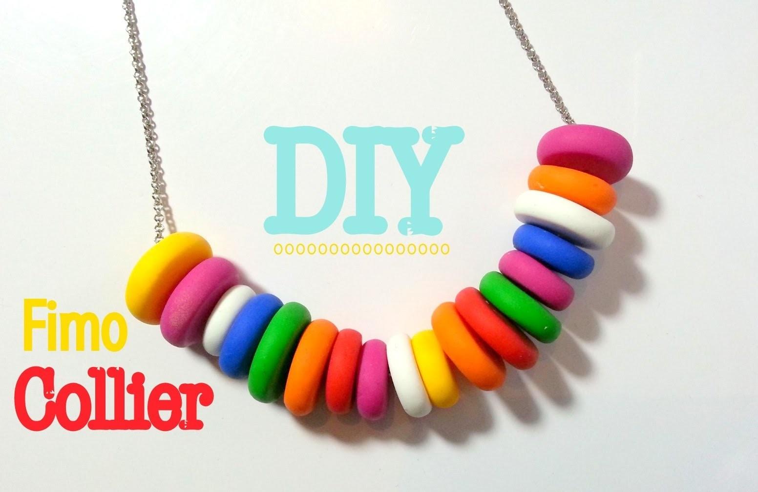DIY Comment faire un collier avec de la pâte FIMO
