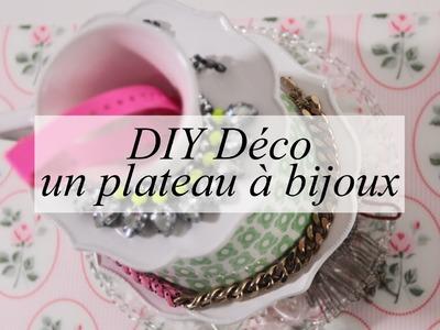 DIY DÉCO : un plateau à bijoux (ou porte bijoux)
