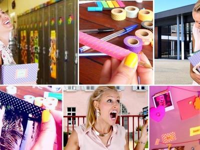DIY Fournitures Scolaires & Organisation - Back to School