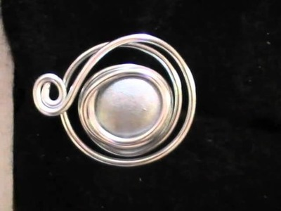 Bijoux en fil aluminium