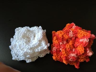 Tuto fleur 2 au crochet