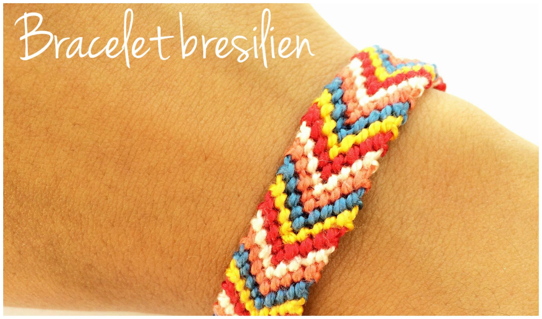 DIY | BRACELET BRESILIEN avec Perles&Co