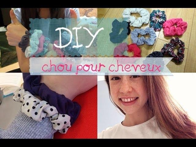 DIY: Chou pour cheveux!