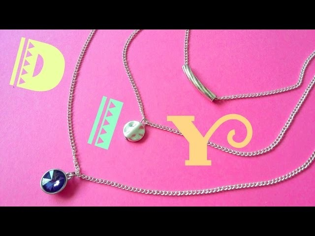 DIY - Collier multirangs