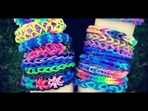 DIY: Comment faire des bracelets avec des élastiques Crazloom Rainbow Loom | SoKawaiiGirl's