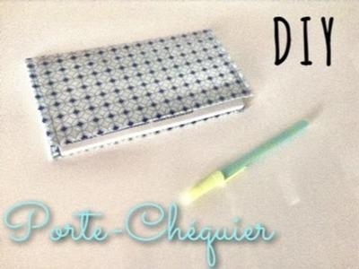 DIY - Création d'un porte chéquier