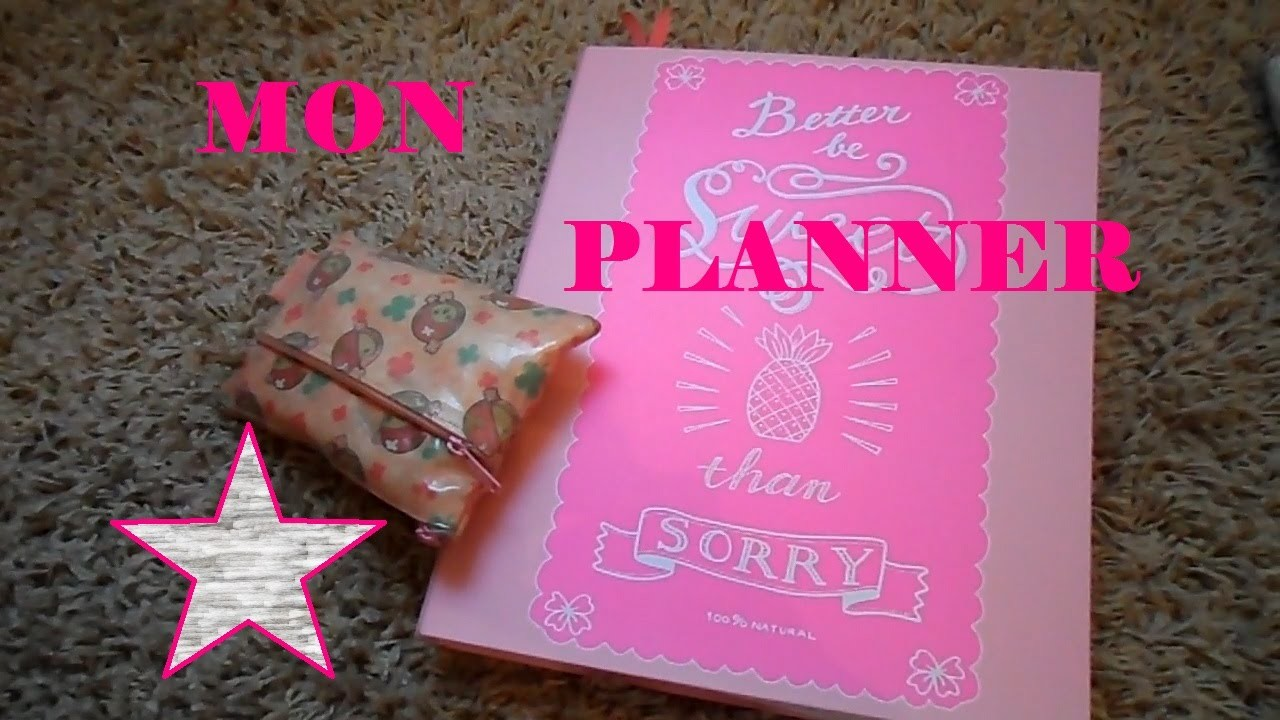 #DIY - Mon Planner !