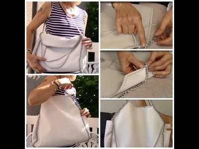 "DIY Réaliser un sac à main inspiration "" Stella Mc Cartney """