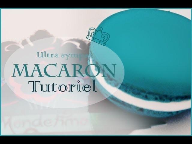 Tutoriel: Le macaron. French macaron tutorial