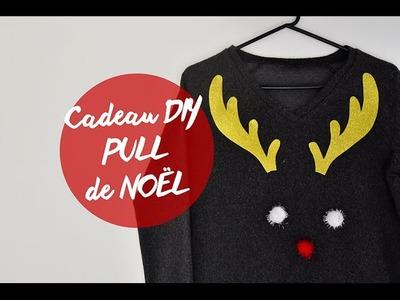 CADEAUX DIY #3 : PULL DE NOËL