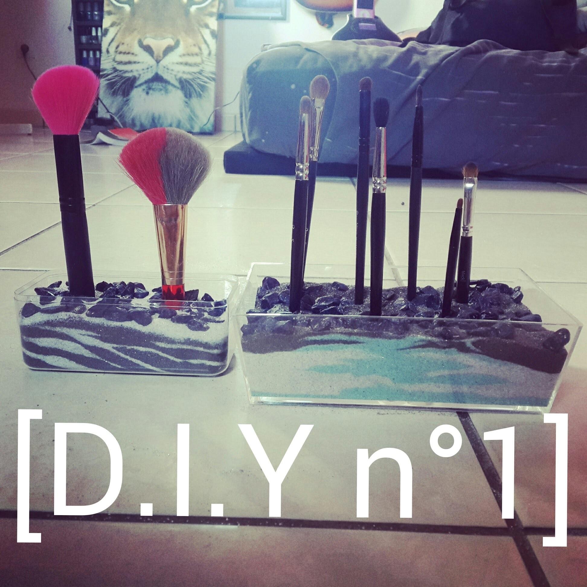 D.I.Y n°1: Rangement.Présentoir pour pinceaux make