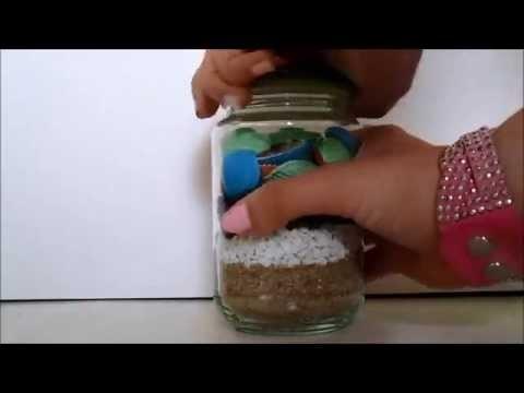 DIY ete decoration plage sable et mer