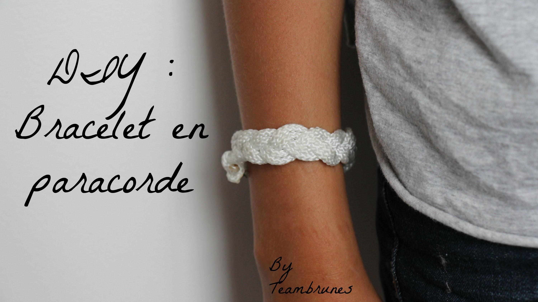 DIY : Le Bracelet en Paracorde