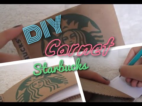 [DIY n°29] Carnet Starbucks