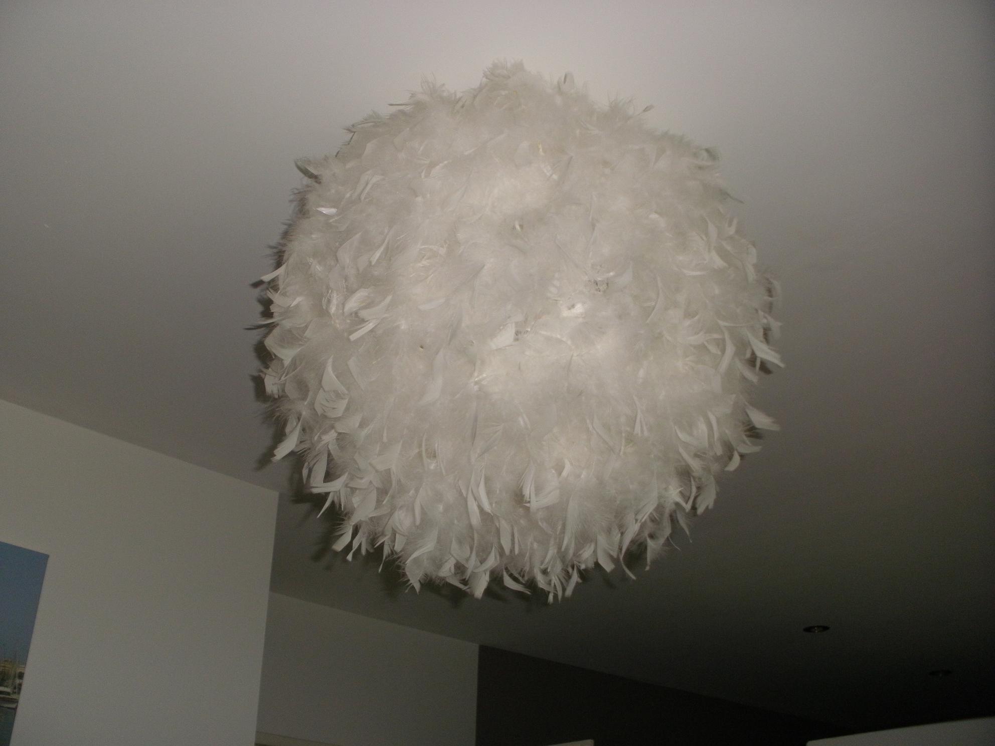 DIY : Suspension boule à plumes