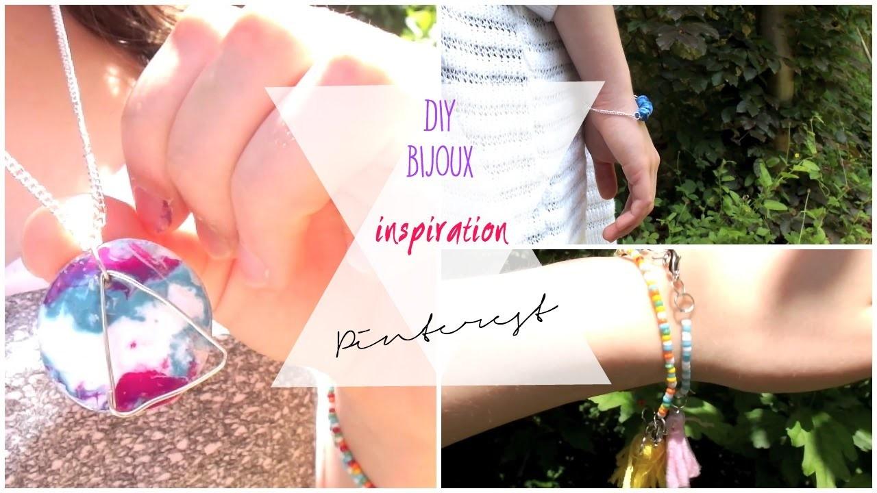 ☀︎ Inspiration Pinterest | BIJOUX ☀︎ DIY SUMMER BRACELETS
