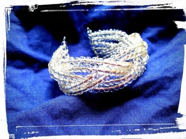 Tuto bracelet tressé rigide diy